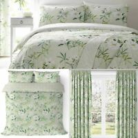 Green Duvet Covers Florence Floral Vintage Quilt Sets Luxury Bedding Collection