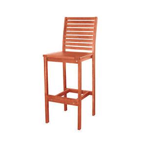 Vifah Malibu Outdoor Bar Chair