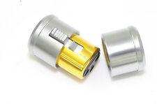 2 Male + 2 Female XLR Noise Stopper Cap Self Lock Caps EN001S USA Design