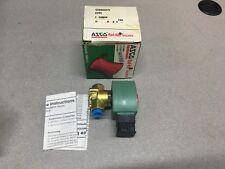 """NEW IN BOX ASCO RED HAT SOELNOID VALVE 3/8"""" PIPE SIZE SD8202G27V"""