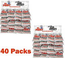 Mr. Porky Pork Scratchings 18g Pub Card of 40 packs  (2 Cards)