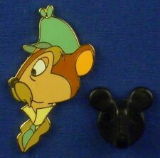 Stalwart Rat Head LE from Adventures of Ichabod & Mr. Toad Disney Pin # 24335