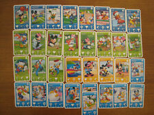 cartes DISNEY Cora / Match MICKEY MOUSE & FRIENDS lot de 118 cartes