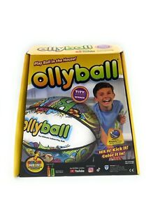 *NEW* Ollyball The Ultimate Indoor Play Ball Color On Ball