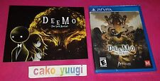 DEEMO THE LAST RECITAL LIMITED RUN #63 SONY PS VITA 4500 EX NEUF NEW + FLYERS