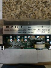 "OKUMA BL-D 50A SERVO DRIVE  BLD50A ""Working Unit""*used*"