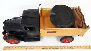 """1933-34 BUDDY-L - Ice Truck """"Rider"""" - Nice Condition - Fully Functionable Toy"""