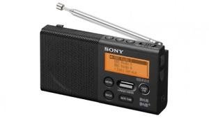 Sony XDR-P1DBP Portable DAB+ & FM Radio - Rechargeable & inbuilt speaker