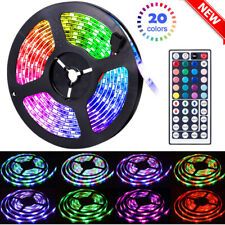 65.6FT Flexible Strip Light RGB LED SMD Remote Fairy Lights Room TV Party Bar