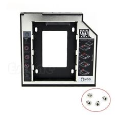9.5mm Universal SATA 2nd HDD SSD Hard Drive Caddy for CD/DVD-ROM Optical Bay 1Pc