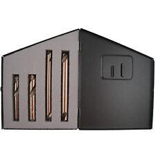 Norseman 35050 4 Piece 8mm - 10mm Gold Cobalt Spot Weld Drill Bit Set