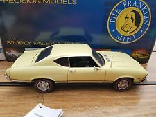 """Franklin Mint 1968 Chevrolet Chevelle SS396 Limited Edition #171 of 2500 """"MIB"""""""