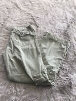 Kuhl Sage Green 100% Cotton Mid Rise Outdoor Hiking Cargo Pants Women's M