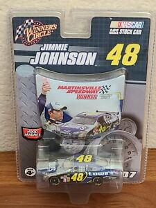 2007 #48 Jimmie Johnson Lowe's Martinsville COT Win 1/64 Winner's Circle NASCAR