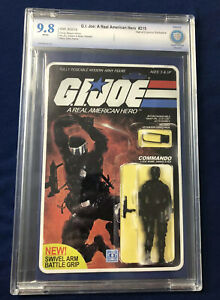 G.l. Joe A Real American Hero 215 CBCS 9.8  Action Figure Variant Snake Eyes