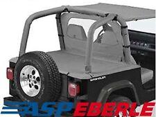 Heckabdeckung Duster Verdeck Cover Grau Jeep Wrangler YJ 92-95