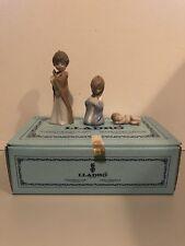 Lladro Mini Sagrada Familia 5.657 Nativity Ornaments Joseph Mary Baby Jesus Rare