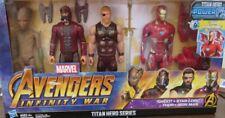 Marvel Avengers Infinity War Titan Hero Series Groot Star-Lord Thor & Iron Man