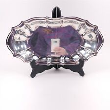 Chippendale International Silver Co 6319 Serving Plate Tray Vintage