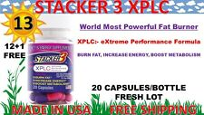Stacker 3 XPLC 20ct 13 Bottles 260 Capsules Weight Loss & Energy Dietary 10/2019