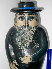 """LP16 (B) Excellent Joan Amparan Gonzalo 21"""" Dapper Man Ceramic Sculpture"""