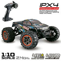 1:10 RC Monster Truck Car Scale 4WD 2.4Ghz Off-road Remote Control Car gift