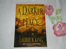 A DARKER PLACE by LAURIE R. KING   *SIGNED*   -ARC-  -JA-