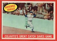 1959 Topps #462 Rocky Colavito NEAR MINT MARKED Cleveland Indians FREE SHIPPING