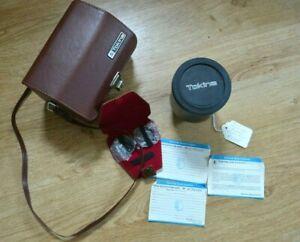 Tokina 500mm F8 Telephoto, Olympus OM mount, complete original kit & paperwork