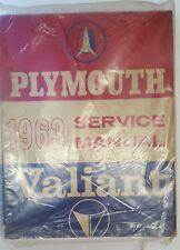 Taller de mano libro Plymouth Barracuda, Belevedere, Satellite & Fury 1963