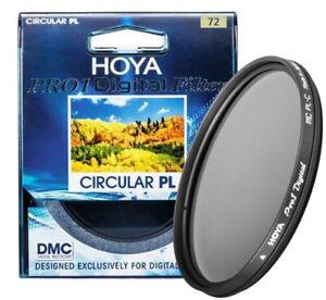 HOYA 72mm Pro1 CPL Digital CIRCULAR Polarizer Camera Lens Filter for SLR Camera