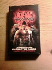 TEKKEN 6 SONY PS3 XBOX 360 GAME PROMO LIMITED EDITION CHARACTER PLAYING CARDS