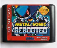 METAL SONIC REBOOTED - 16 bit MD Hack Games For Sega MegaDrive Genesis