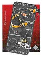 1995-96 Mario Lemieux Upper Deck SP Stars Etoiles Die Cut - Pittsburgh Penguins