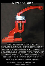 E-Z FRONT HANDLE CONVERSION KIT FOR RED & BLACK SHOP PRESSES - MUCH BETTER!