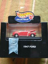 Hot Wheels Collectables 1947 Ford Convertable Black Box 1:64