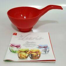 Bormioli Rocco Canning Funnel and Recipe Book Quattro Stagioni