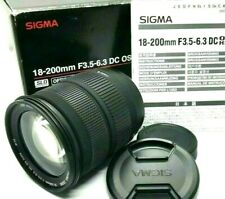 Sigma 18-200mm F3.5-6.3 DC OS HSM for Nikon AF Auto Focus Zoom Lens from Japan