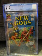 New Gods #7 CGC 7.5 White, 1st Steppenwolf, Origin of Mister Miracle & Orion