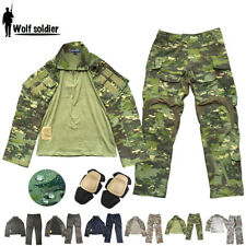 Airsoft Mens Tactical Shirt Pants Army Gen3 Military G3 Combat Casual Camouflage