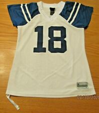 Womens Peyton Manning 18  NFL Indianapolis Colts WHITE Jersey Reebok Small