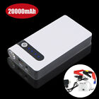 20000mah Portable 12v Jump Startar Car Battery Charger Power Bank Booster Light
