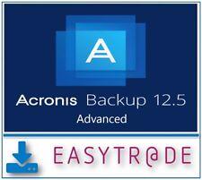 Acronis Backup Advanced Workstation 12.5 Win/Mac ESD - Unbefristete Lizenz