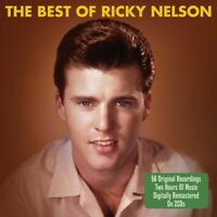 RICKY NELSON - THE BEST OF - 2 CDS - NEW!!