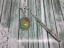 "Dr Seuss Quote ""There is so much to read"" Metal Bookmark Gift for Booklover"