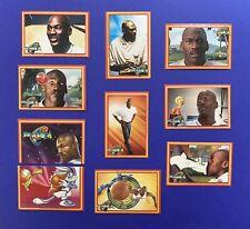 Lot Of 10 Rare 1996 Upper Deck Space Jam Euro Sticker Cards All Michael Jordan