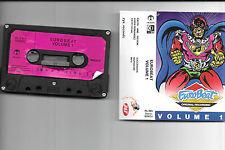 Eurobeat Volume 1, compilation, various artists - dance cassette tape + CD-R