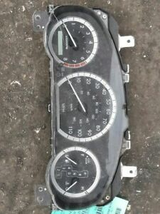 Speedometer Cluster MPH Without Display Window Fits 04-05 SIENNA 379285