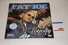 FAT JOE SIGNED AUTOGRAPH LOYALTY LP VINYL PSA/DNA AC79351 joey crack ts