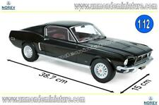 Ford Mustang Fastback 1968 Black  NOREV - NO 122700 - Echelle 1/12 NEWS